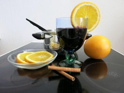 Holunder-Orangen-Punsch