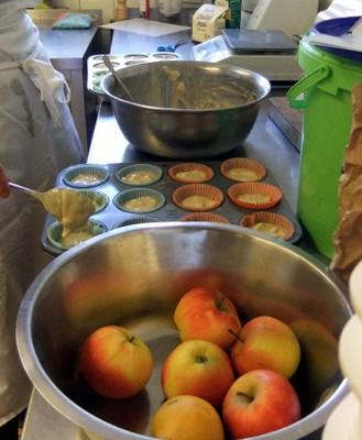 Kochen bei Fortbildung