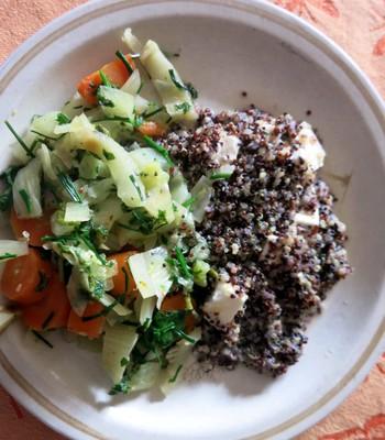 Quinoa mit Gemüse
